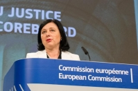 Vĕra Jourová, Member of the EC in charge of Justice, Consumers and Gender Equality, will give a press conference on the EU Justice Scoreboard 2019.